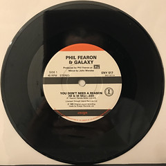 PHIL FEARON & GALAXY:YOU DON'T NEED A REASON(RECORD SIDE-A)