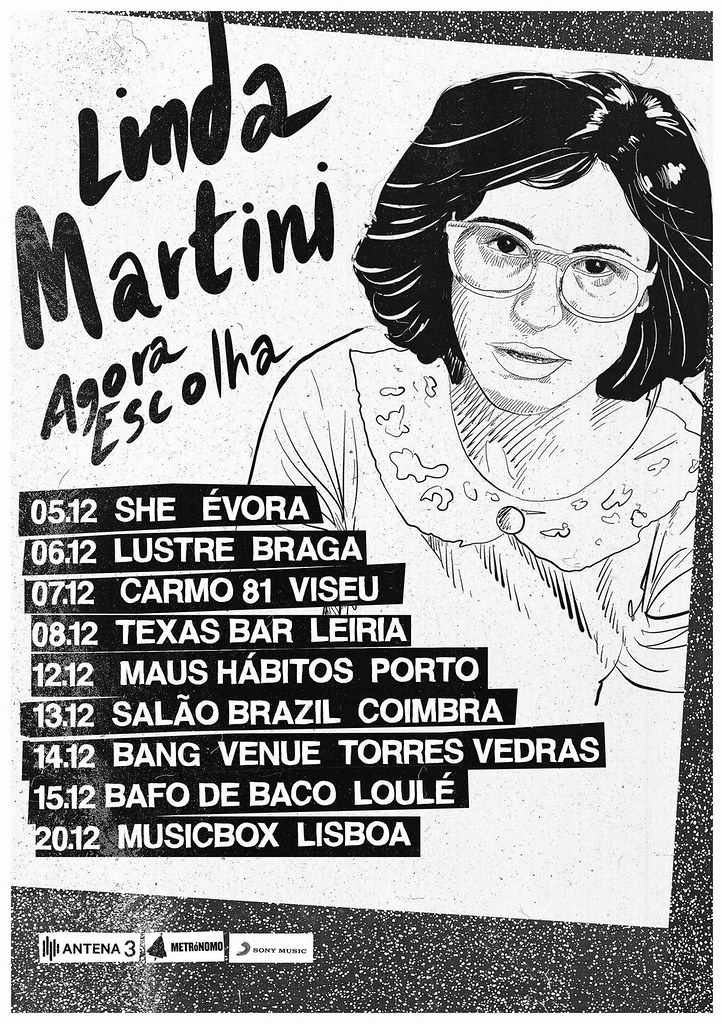 Linda Martini - Tour Agora Escolha