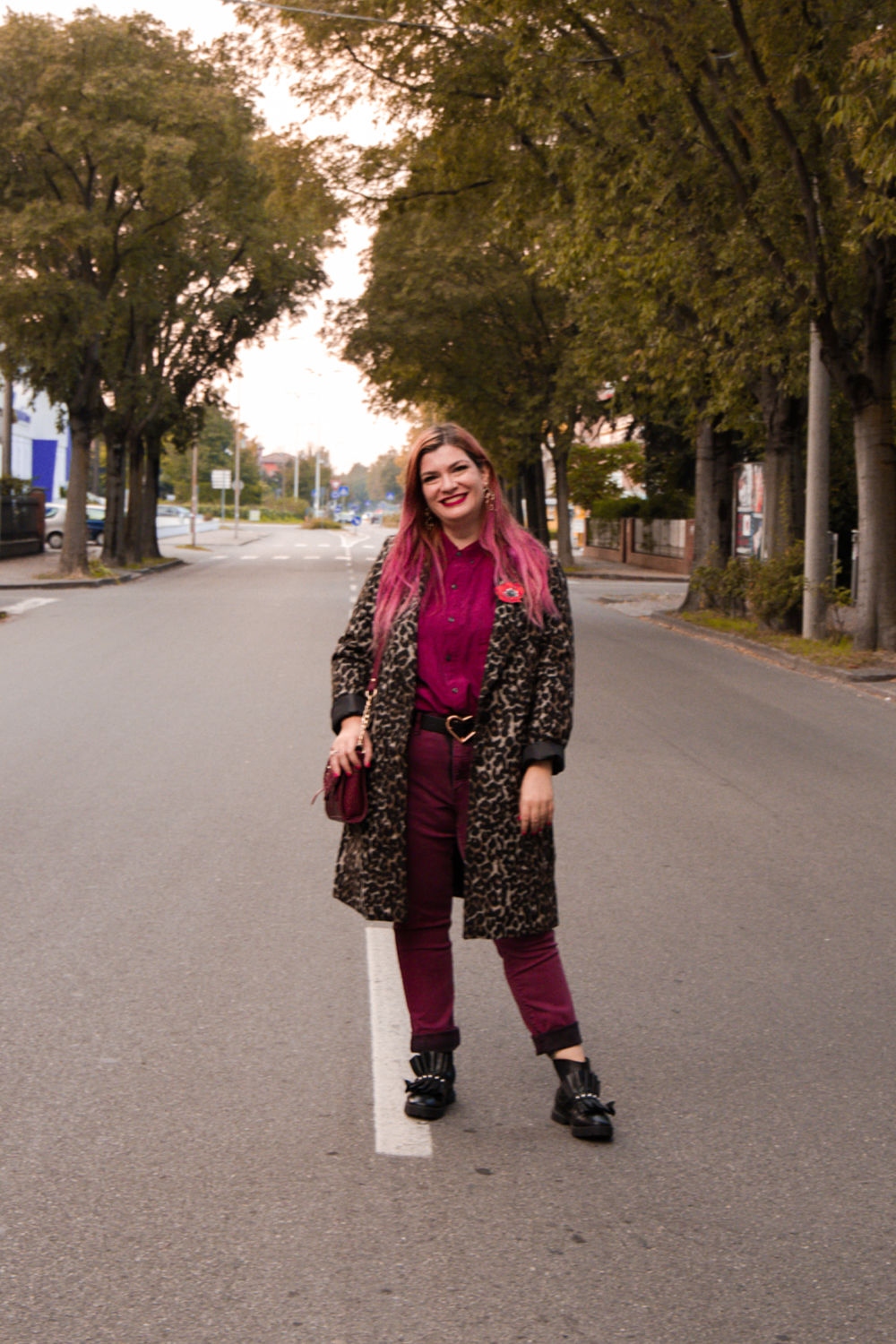 outfit plus size cappotto leopardato animalier (5)