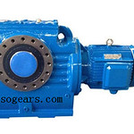 SA series Hollow Shaft Worm Helical Geared Motor