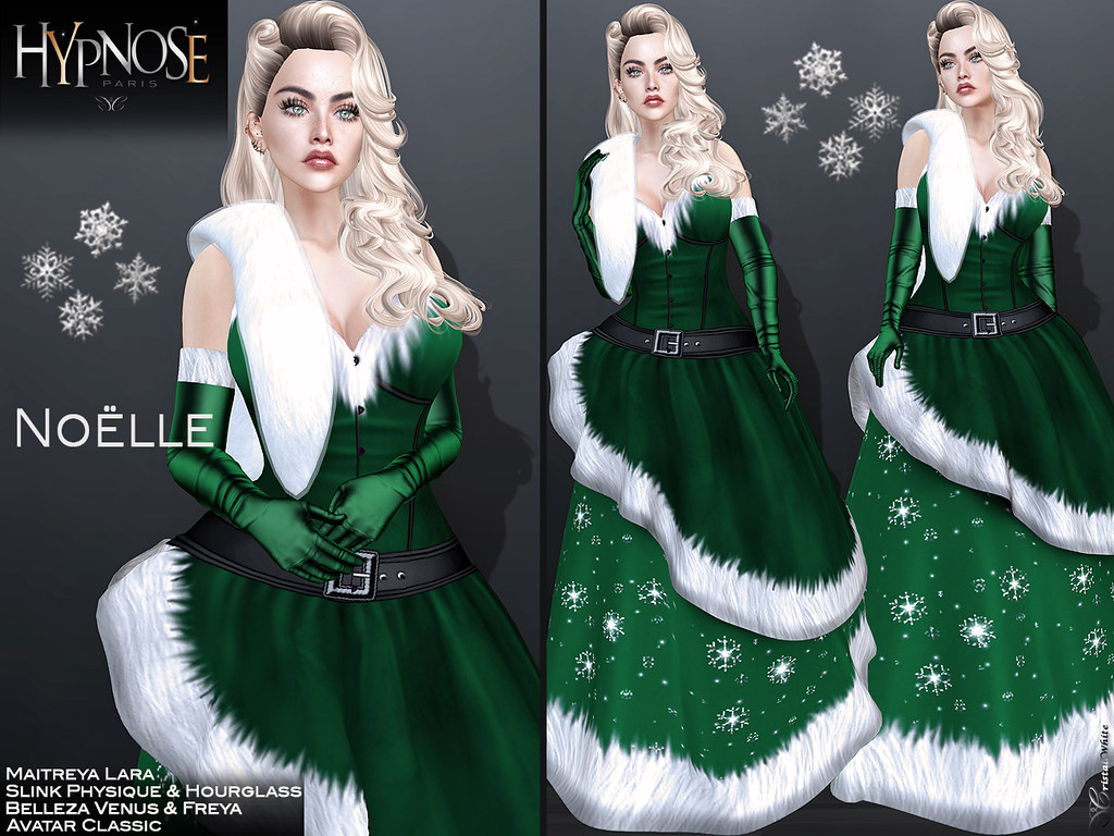 HYPNOSE – NOELLE GREEN OUTFIT