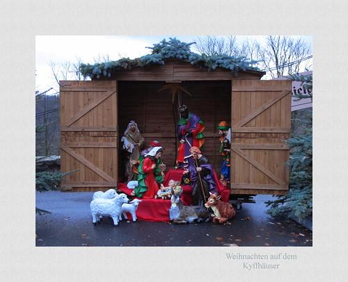 Weihnachten auf dem Kyffhäuser.