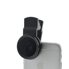 Cloth-Clip Pro 37mm Circular Polarizing Lens Filter (CPL) for iPhone / Samsung / HTC / Sony Phones