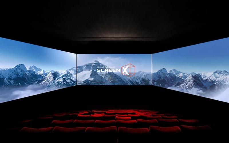 Golden Screen Cinemas Perkenal ScreenX 4DX