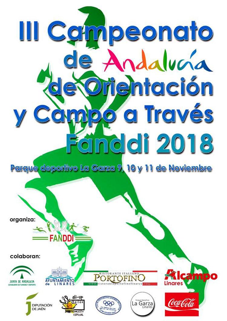 Apadis participará en el Campeonato Andaluz de Orientación y Campo A Través