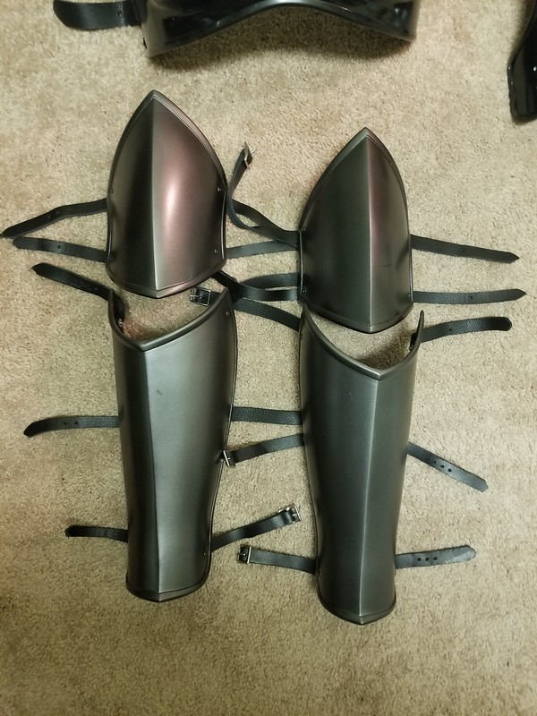 Finished Baroness Shin and Knee Armor