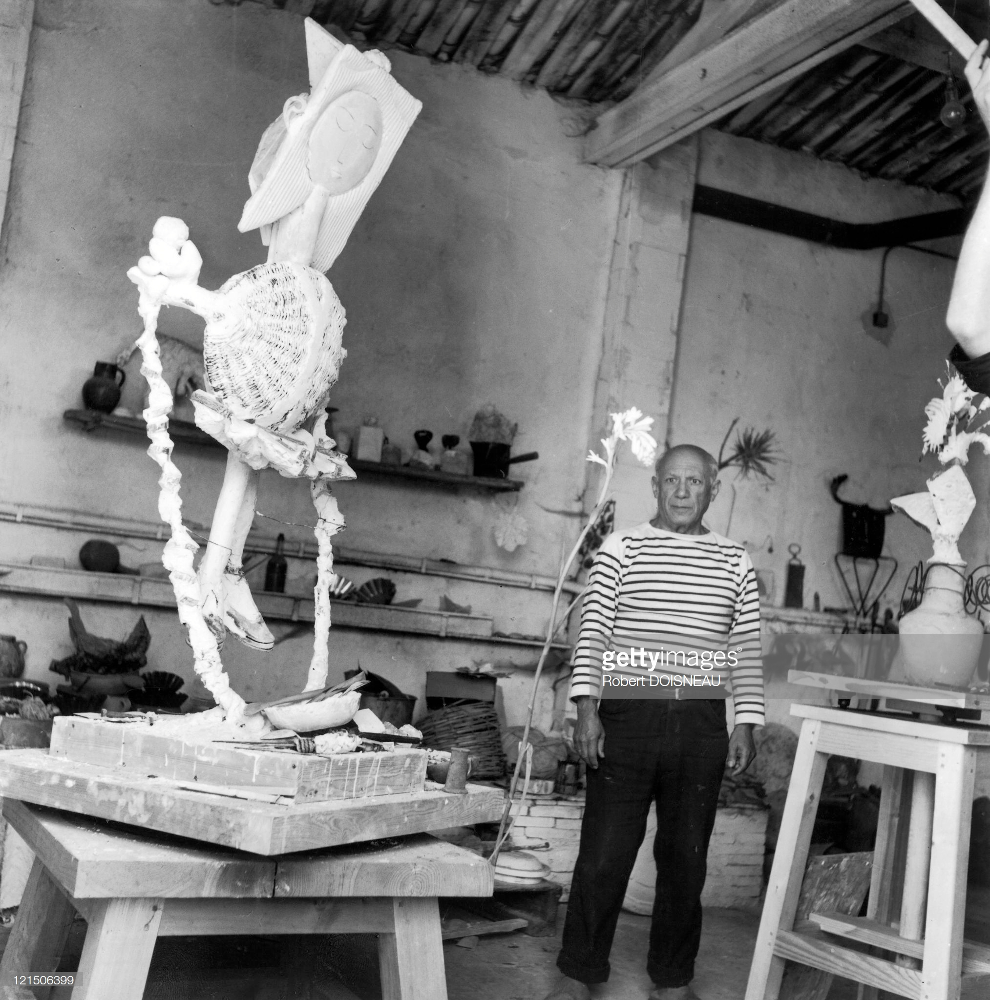 1952. Пабло Пикассо, Валлорис, сентябрь