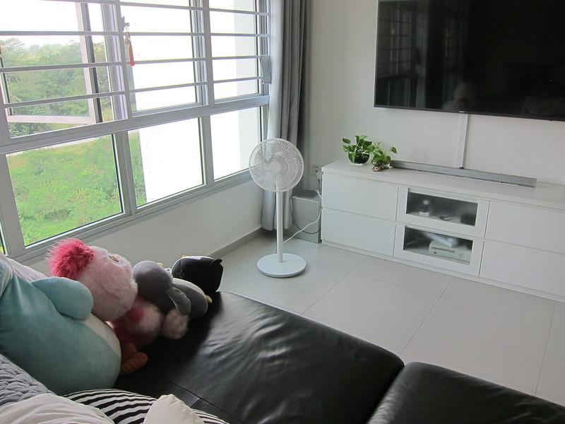 Mi Standing Fan - In Living Room