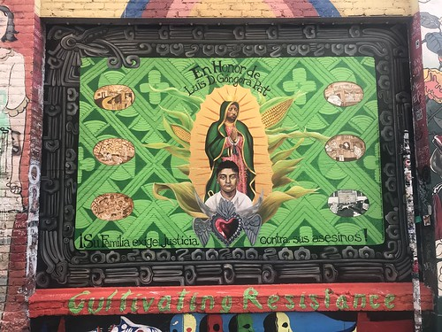 Clarion Alley mural