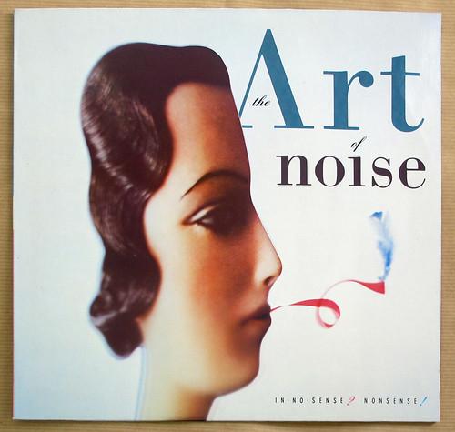 "ART OF NOISE IN NO SENSE NONSENSE 12"" LP VINYL"