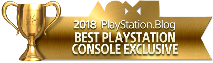 Best PlayStation Console Exclusive - Gold