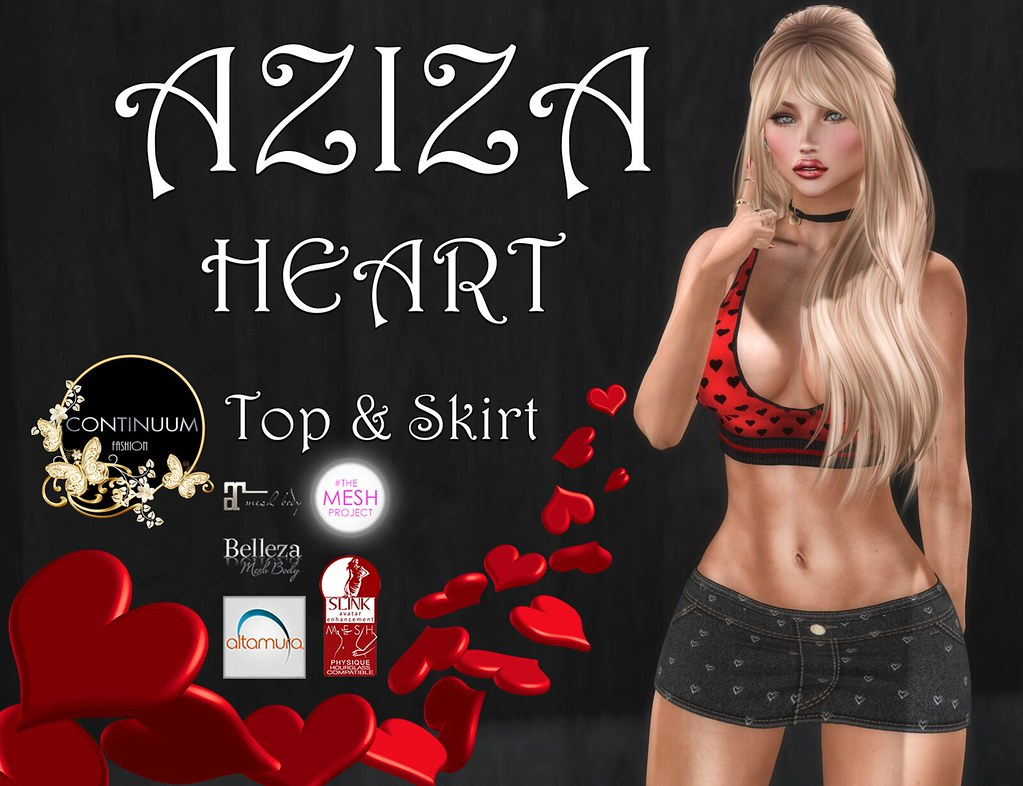 Continuum Aziza Heart GIFT