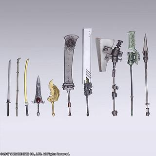 印象深刻的 10 種武器登場!BRING ARTS《NieR:Automata 尼爾:自動人形》 武器收藏盒玩