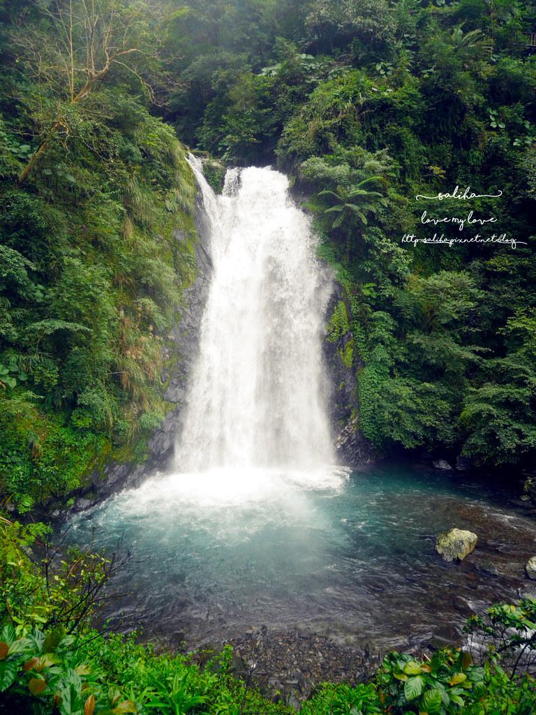 宜蘭冬山鄉好玩踏青郊遊爬山景點旅遊新寮瀑布第二層瀑布開放 (4)