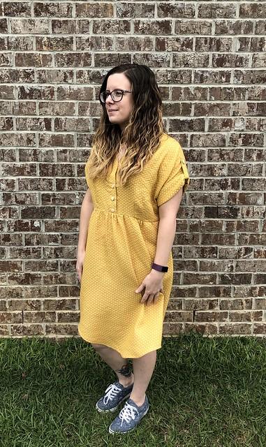 Chalk & Notch Fringe Dress