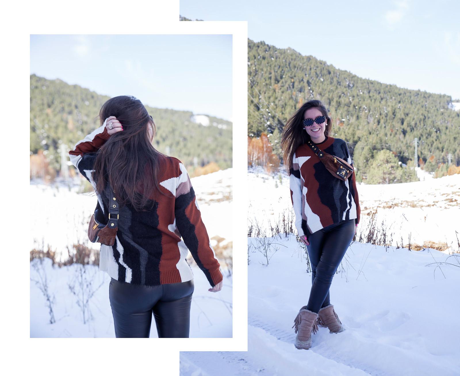 04_combinar_jersey_marron_outfit_nieve_embarazada_theguestgirl_embarazo_33semanas_pregnant_style_influencer_barcelona_look_comodo_apreski