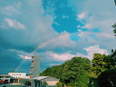 Rainbow in the of Passau