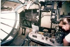 USAF Convair RB-36 navigators, bombarders, camera operators stations.