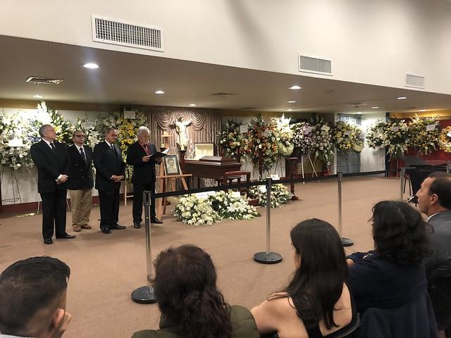 Universidad de San Martín de Porres realizó  homenaje póstumo al Dr. Enrique Bernales Ballesteros