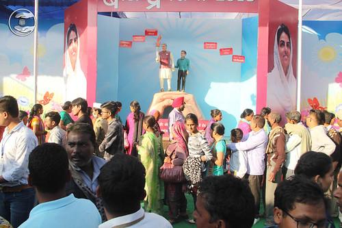 A view of Nirankari Bal Pradarshani