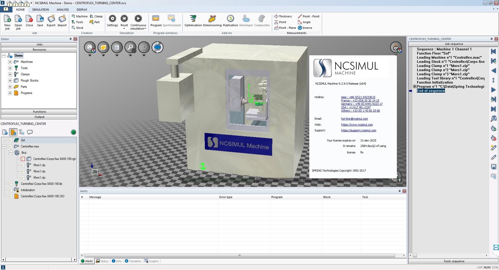 Working with NCSIMUL Machine 9.2.9 x86 х64 full license