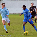 Barking FC v Brentwood Town FC - Saturday December 22nd 2018