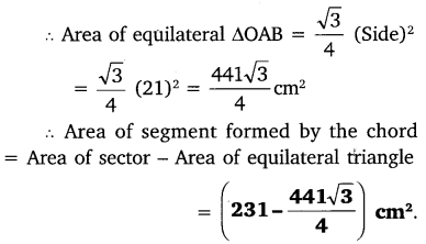NCERT Solutions for Class 10 Maths Chapter 12 Areas Related to Circles 11