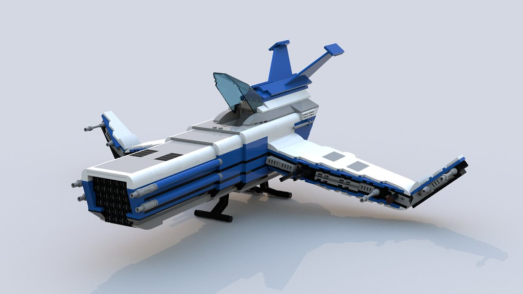Buildable Starfighter 01