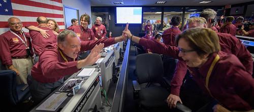 Mars InSight Landing (NHQ201811260010)
