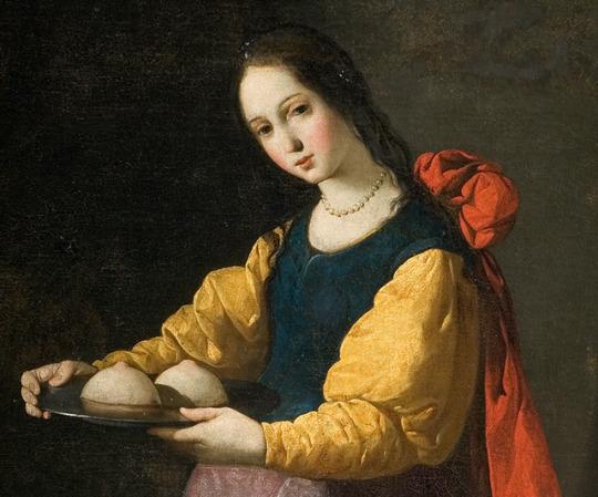 Female, presenting nipples.