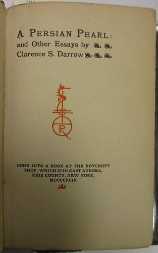 Penn Libraries 811W YD: Title page