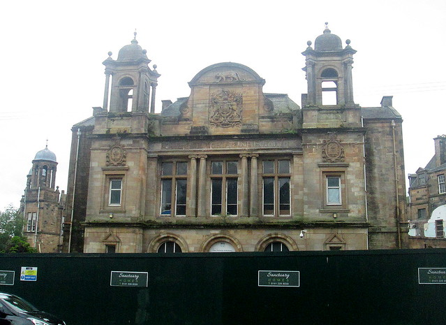 Facade, Former Victoria Infirmary Building, Langside, Glasgow