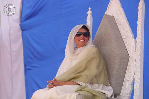 Satguru Mata Ji showering blessings