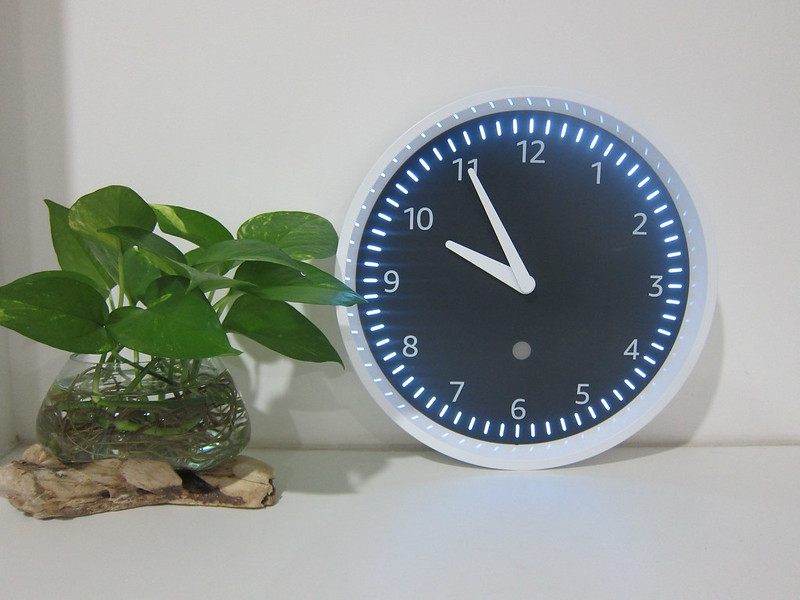 Amazon Echo Wall Clock - Connected