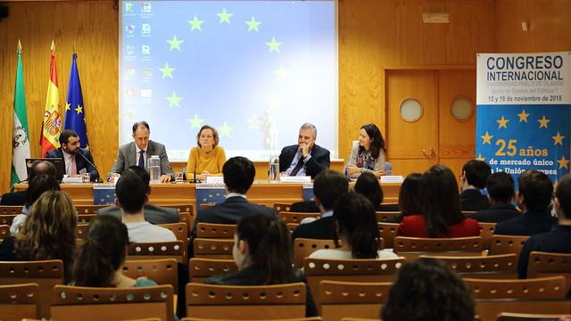 Congreso '25 años de Mercado Único en la UE'
