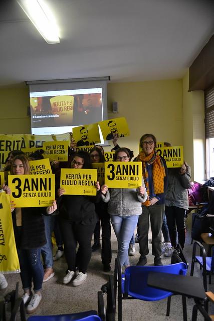 #3annisenzaGiulio - scuole