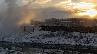 American Falls Sunrise