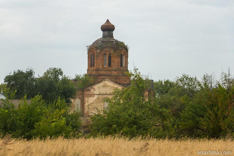 Церковь Всех Святых в Ширяево, Воронежская область