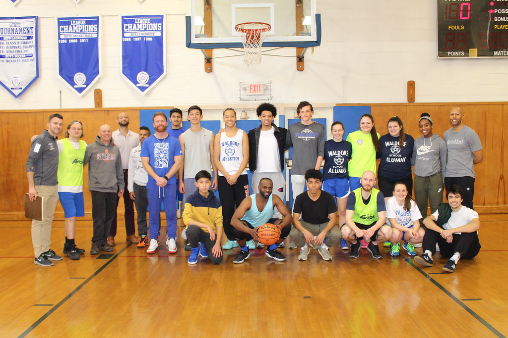 Alumni Basketball Games and Community Three-Point Contest