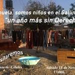 """18.11.17  El """"Gallinero"""" ante el ayuntamiento"""