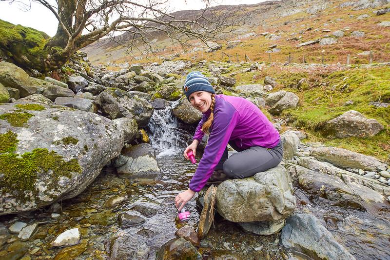 Borrowdale fell walks - Water-to-Go Bottle