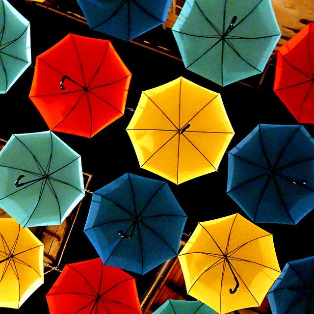 Les Parapluies d'Aurillac