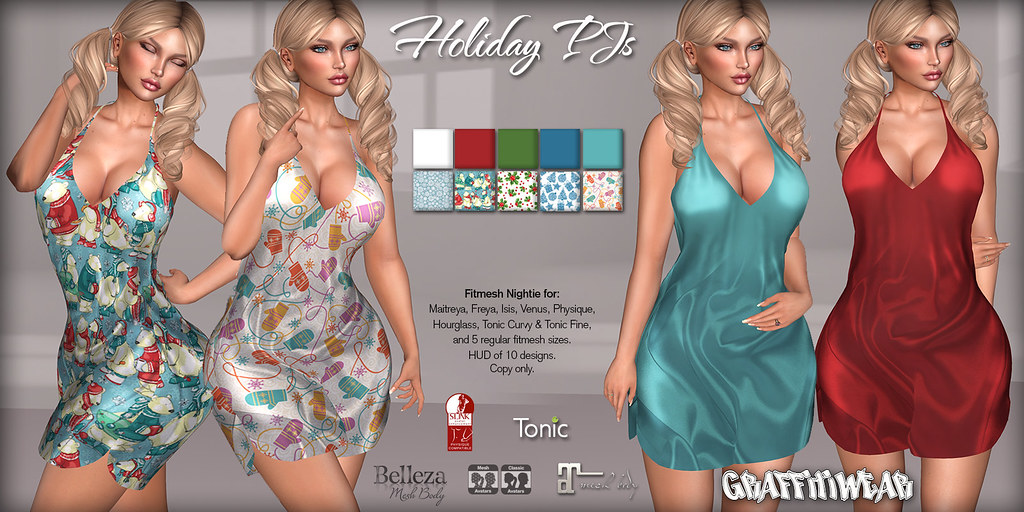 Holiday PJs Ad