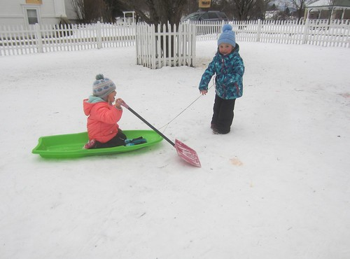 sled plowing