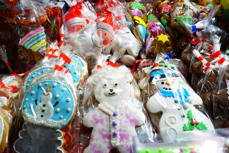 Продажа рождественских пряников