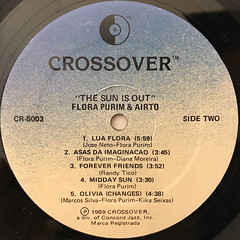 FLORA PURIM & AIRTO:THE SUN IS OUT(LABEL SIDE-B)