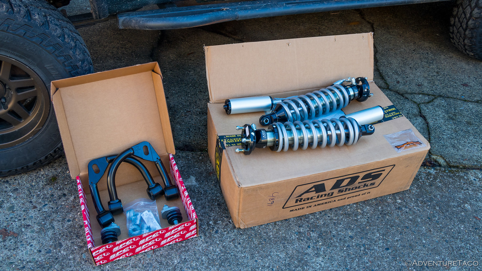 Step-by-Step Install of SPC Upper Control Arms on a Toyota Tacoma