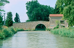 The Canal du Midi, North of Ouveillan