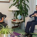 President Nakao meets Sri Lanka officials