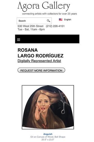 Rosana Largo AGORA GALLERY